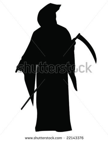 Reaper clipart silhouette Silhouette Reaper Grim Download Grim
