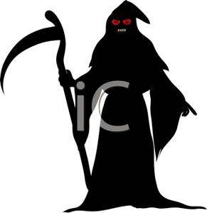 Reaper clipart silhouette Red The Eyes The with