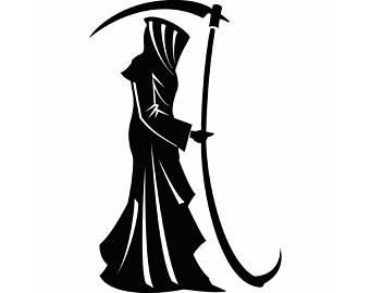 Reaper clipart cloak Cloak SVG Grim Etsy svg