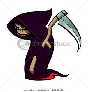 Reaper clipart cloak Cloak a with Purple with