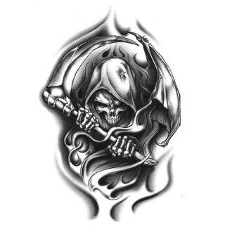 Reaper clipart tribal Cool Wicked reaper Tattoo Reaper