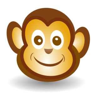 Grin clipart Funny Art Download Grin Monkey