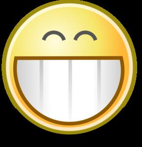 Grin clipart Face royalty vector clip Grin