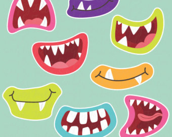 Monster clipart lip #13