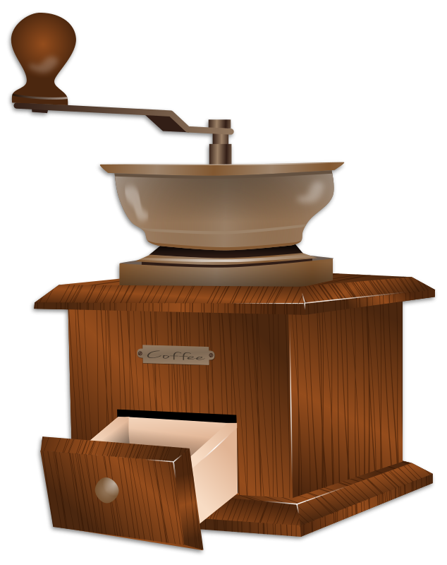 Grinder clipart Coffee Free  Traditional Clip