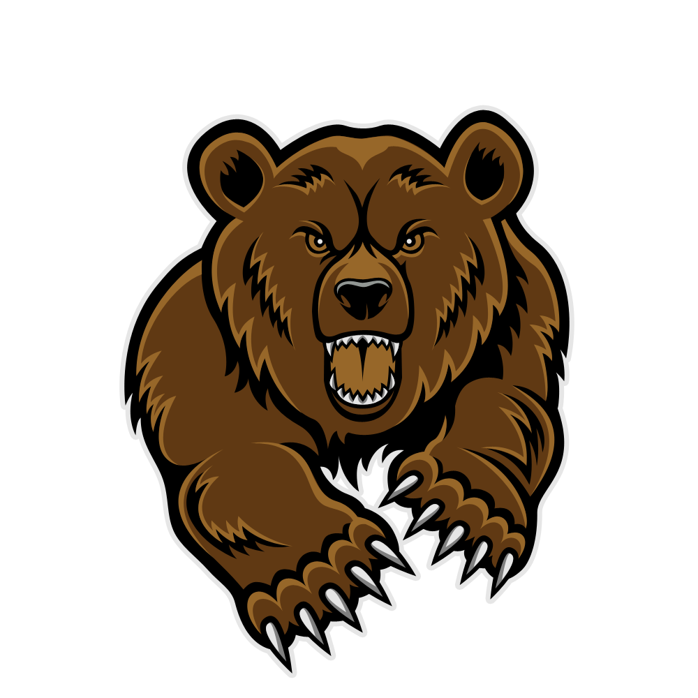 Grizzly Bear clipart growl Clipart Clipart Panda Free Clipart
