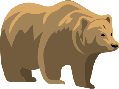 Brown Bear clipart grizzly bear Clipart Bear Grizzly Free Clip