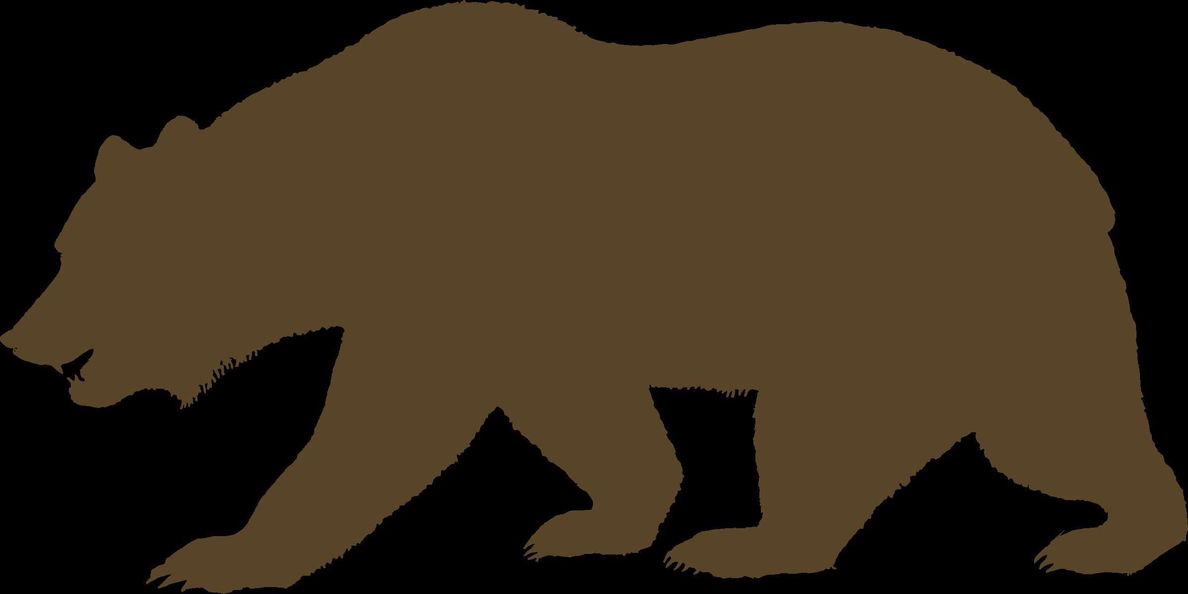 Grizzly Bear clipart california bear Free Bear California Download Art