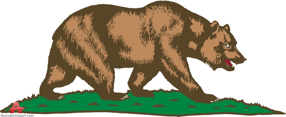 Grizzly Bear clipart california bear Bear Bear Clipart Download Walking