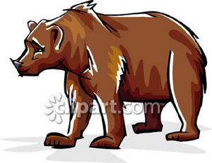 Grizzly Bear clipart california bear Free Art Clipart Grizzly Clipart