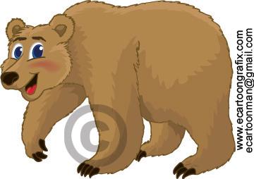 Grizzly Bear clipart cartoon Cartoon Grizzly Cartoon Bears grizzly