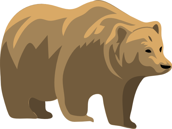 Larger clipart grizzly bear Bears Cartoon Art Inspiration Others