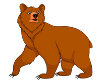Larger clipart grizzly bear Size: clipart Collection Free