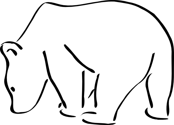 Grizzly Bear clipart polar bear #14