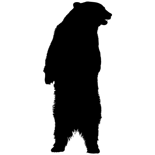 Grizzly Bear clipart standing bear #14