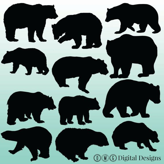 Black Bear clipart woodland 230 images by Pinterest on