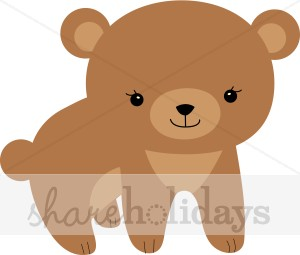Brown clipart baby bear Clip Art Baby Easter Baby
