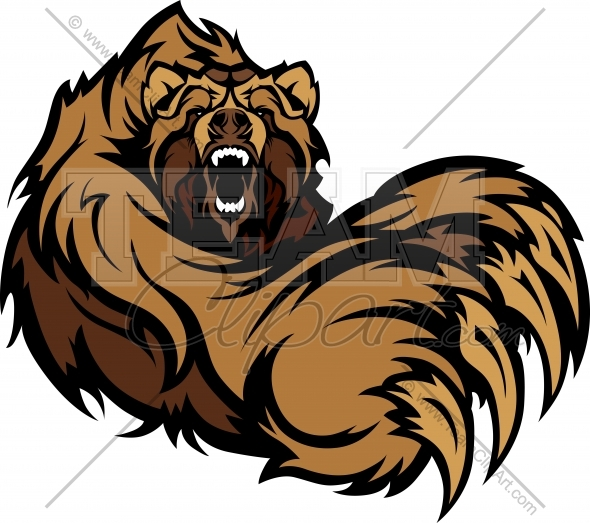 Grizzly clipart Grizzly bear clipart photo#2 Claws