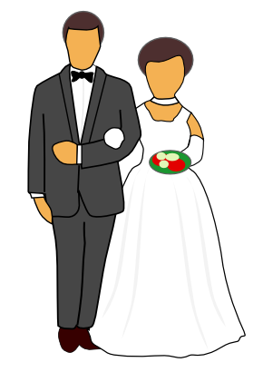 Bride clipart transparent #1