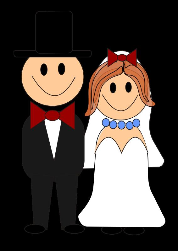 Wedding clipart cartoon Art Free Free Domain