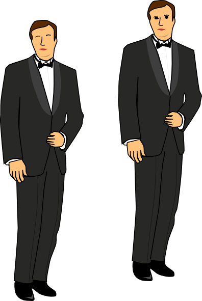 Groom clipart groom tux Clip Clker at Download Art