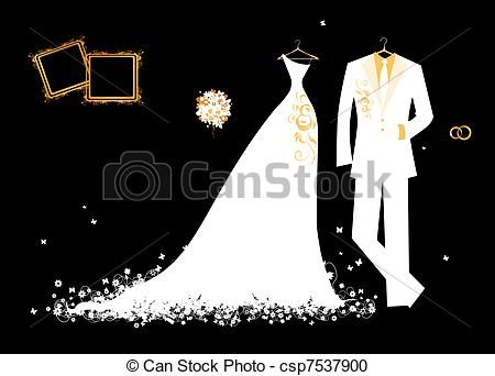 Wedding Dress clipart logo Stock about clip Pinterest art