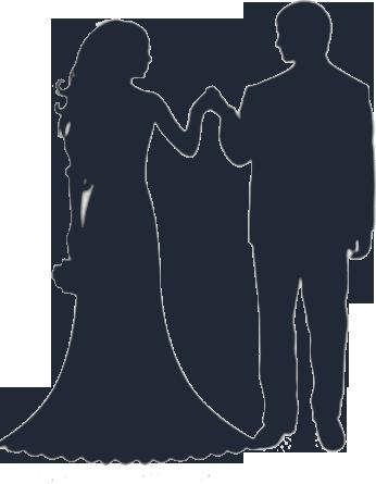 Blue clipart bride and groom Groom bride art bride ClipartFox