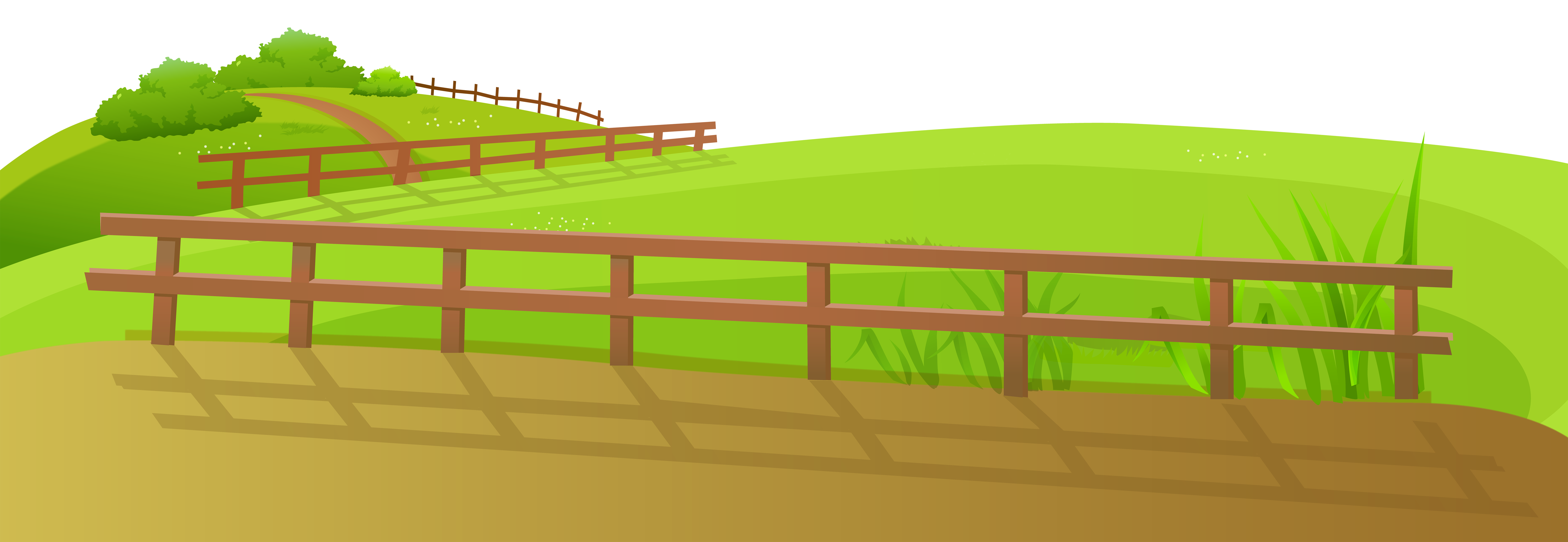 Ground clipart Clip Image Grass View Fence