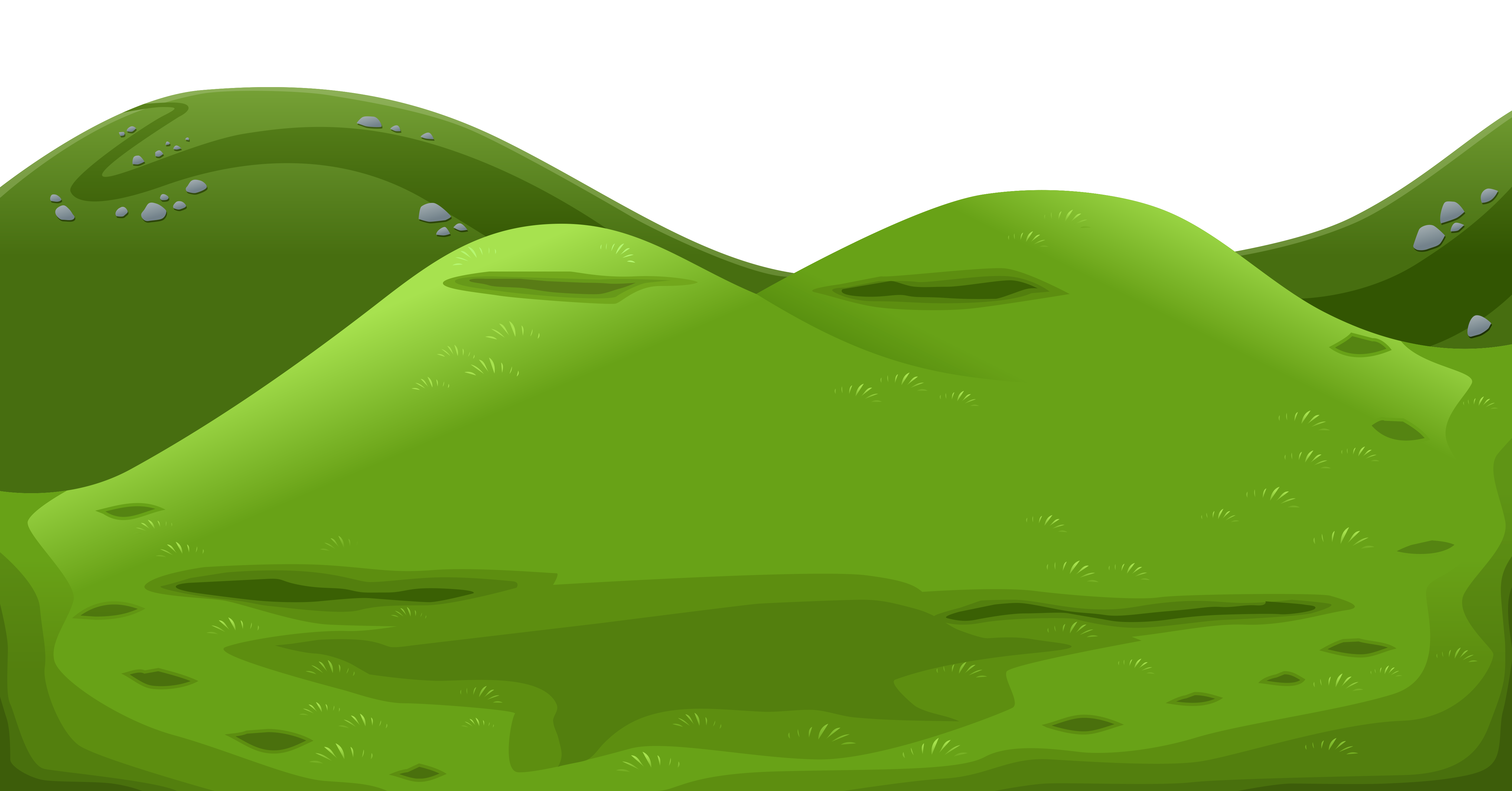 Ground clipart Gallery High Green View PNG