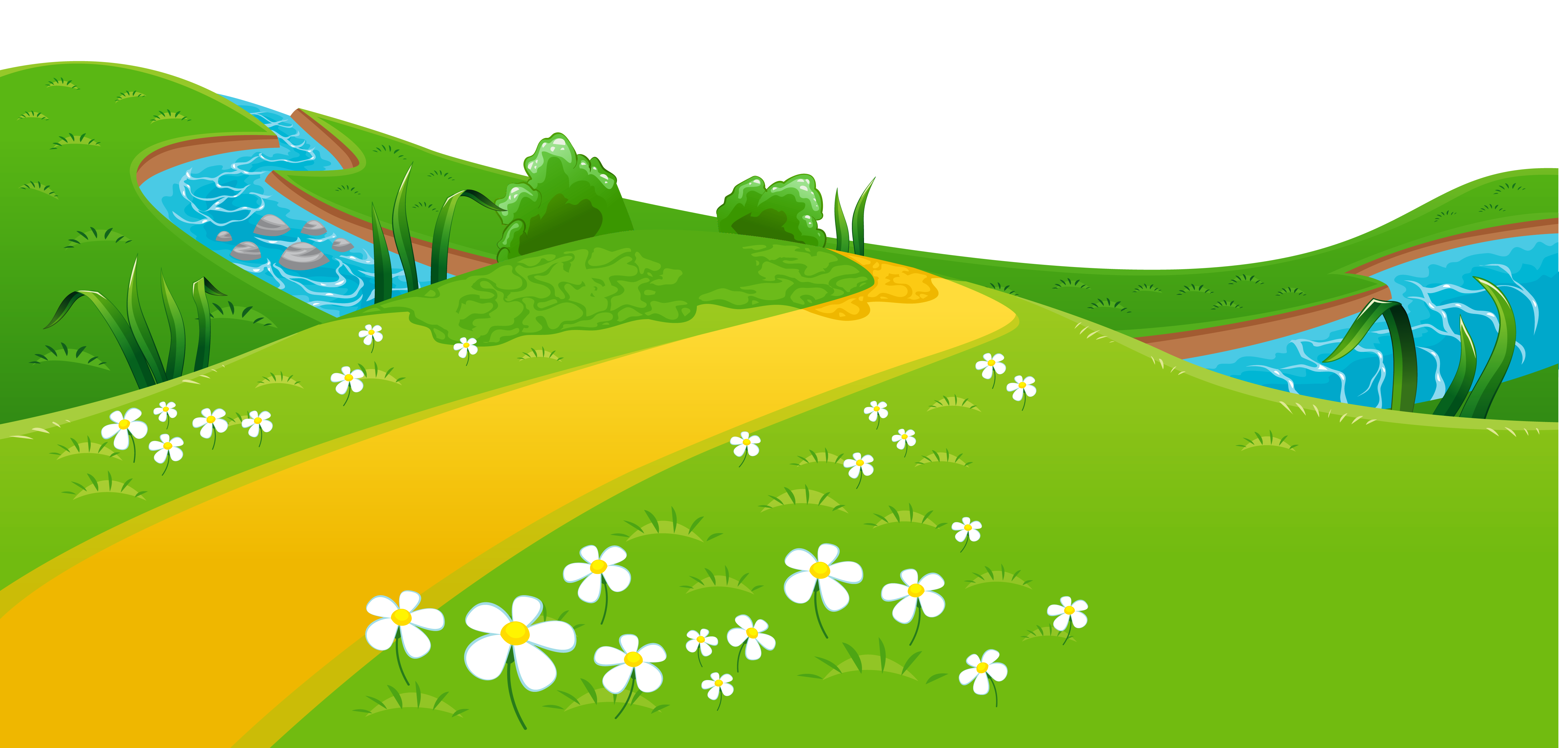 See clipart flower meadow Ground – Clipart Clip Ground