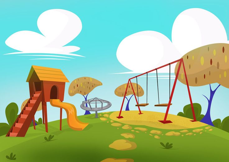 Background clipart playground Collection clipart art animated clip