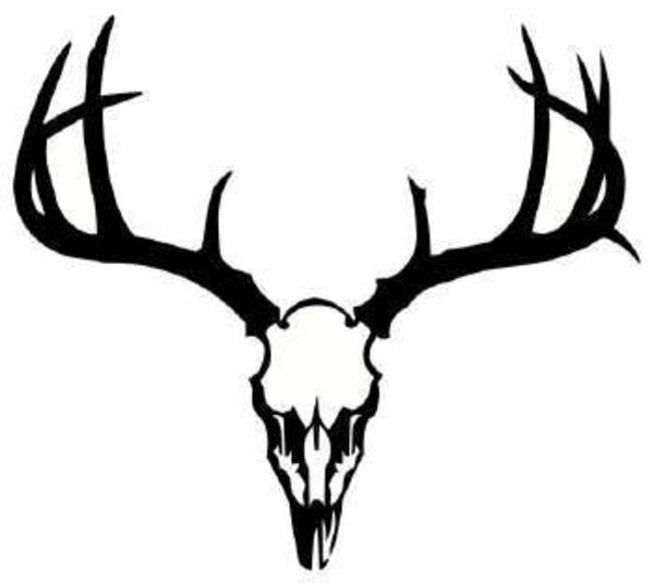 Buck clipart elk head Silhouette silhouette art deer on