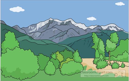 Geography clipart mountain Clipart Mountains range mountain Mountains