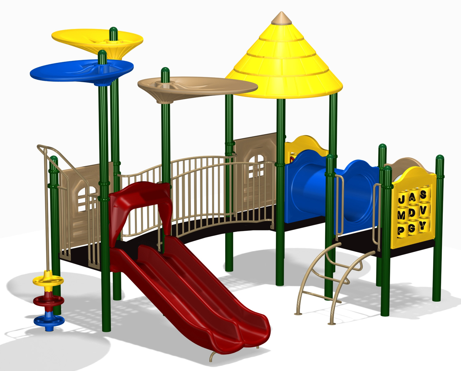 Cartoon clipart playground  equipment Clipart playground Outside