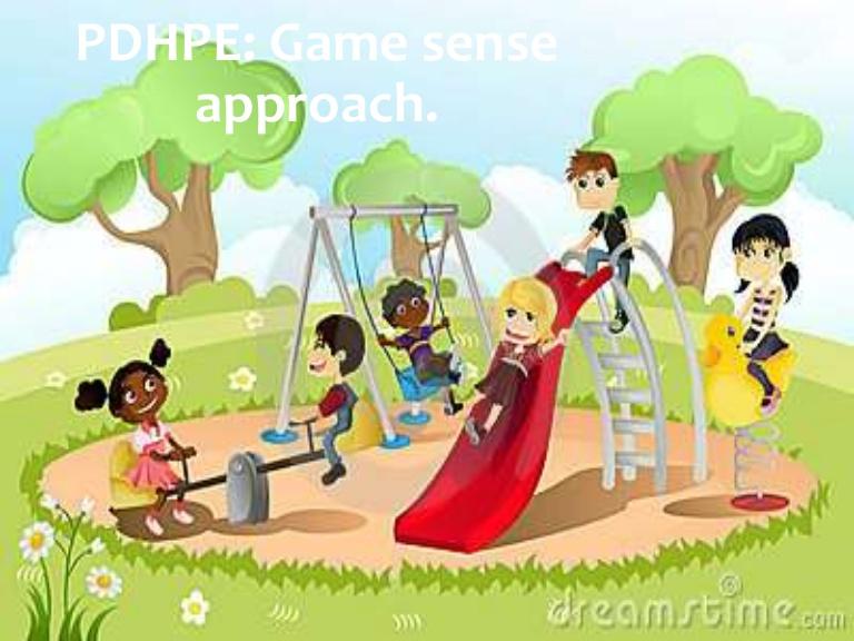 Playground clipart playground game  Game Sense Powerpoint