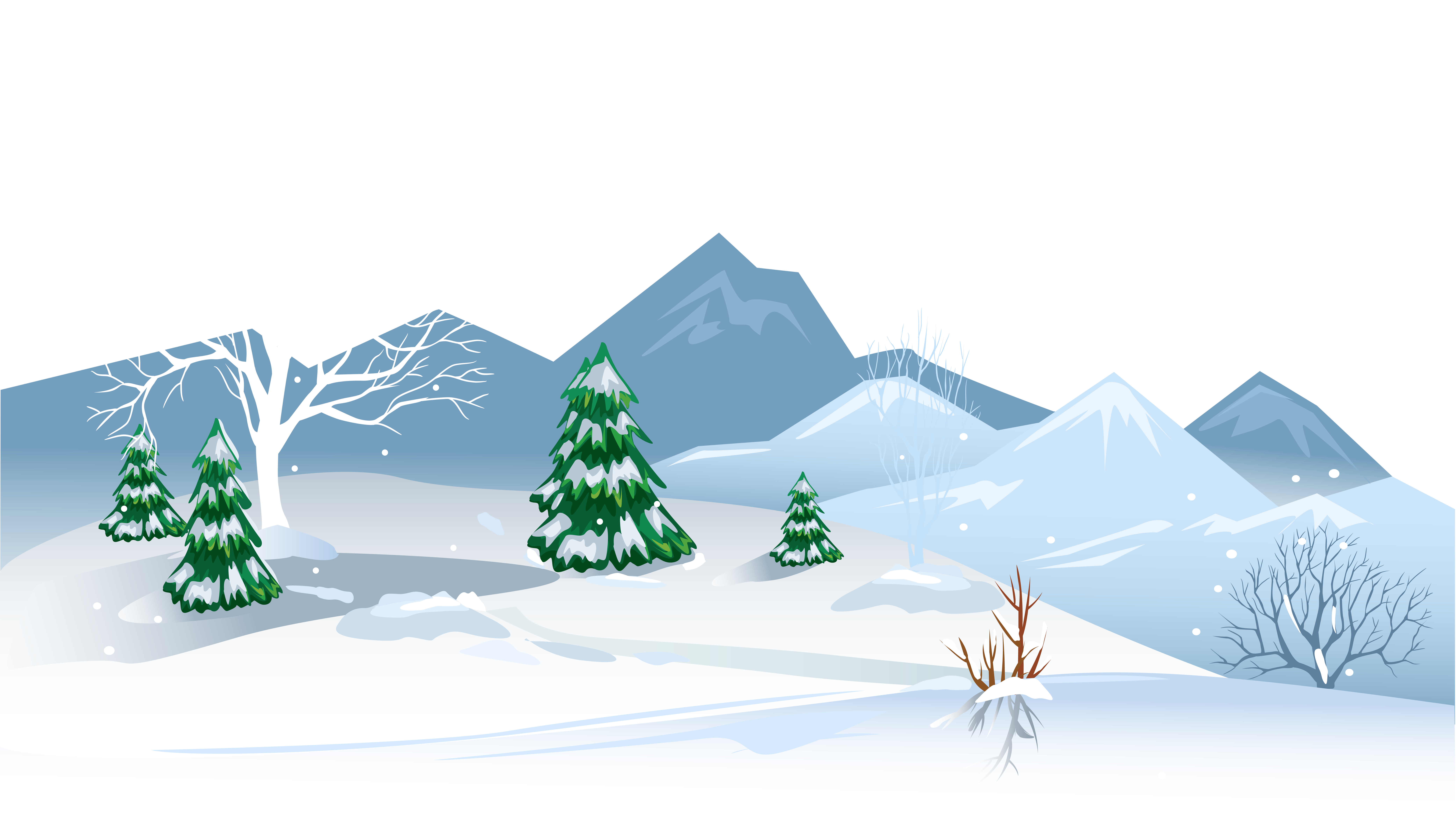 Snowfall clipart winter game #1