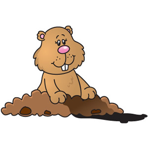 Groundhog clipart Day groundhog Cliparting clipart Clipart