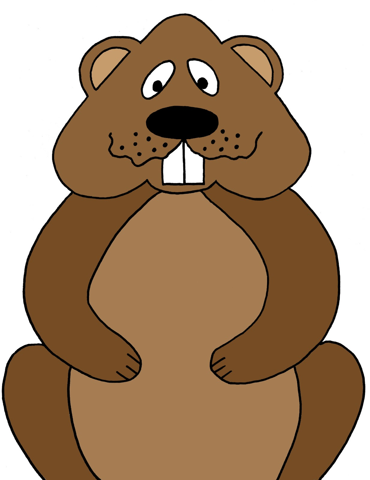 Groundhog clipart Art clipart Cliparting clip Clipart