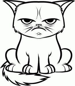 Grumpy Cat clipart Me school grumpy that 25+