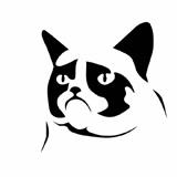 Grumpy Cat clipart – Grumpy Clipart Clip Clip