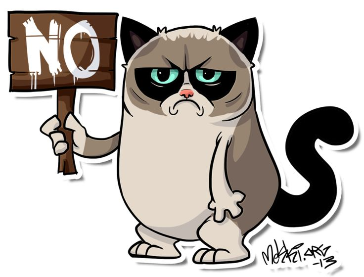 Grumpy Cat clipart Ideas on gifts Grumpycat by