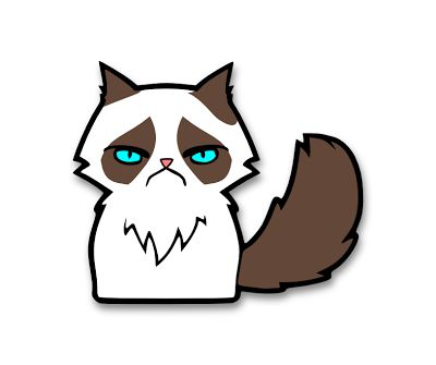 Grumpy Cat clipart The Pinterest Who Lady Grumpy