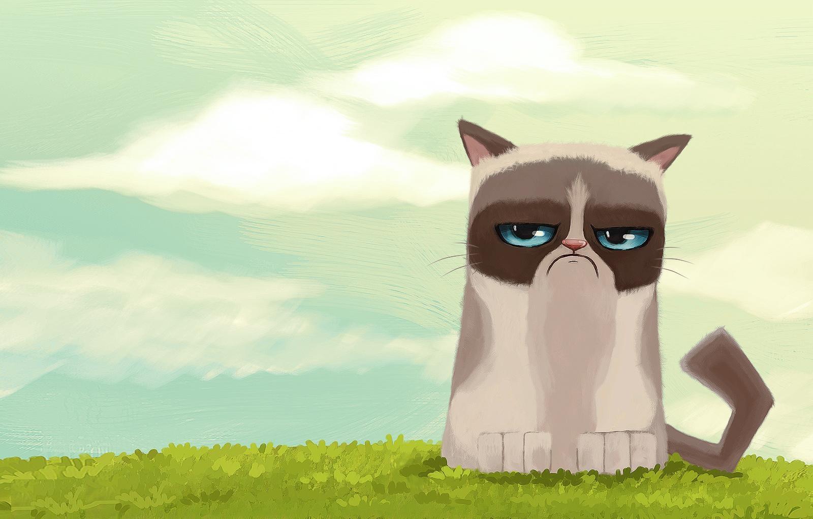 Grumpy Cat clipart animated #2