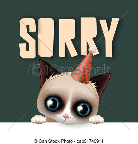 Drawn card grumpy cat #5