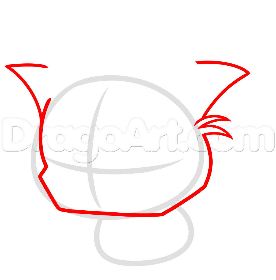 Grumpy Cat clipart dragoart Draw Cat to how step