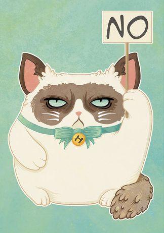 Grumpy Cat clipart not #1