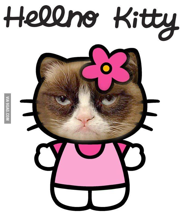 Grumpy Cat clipart sad kitty #6