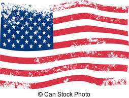 Rustic clipart american flag American 33 Illustration  vector