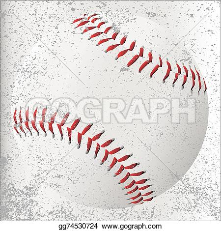 Grundge clipart baseball Clipart on Illustration white