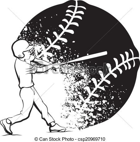 Grundge clipart baseball #15